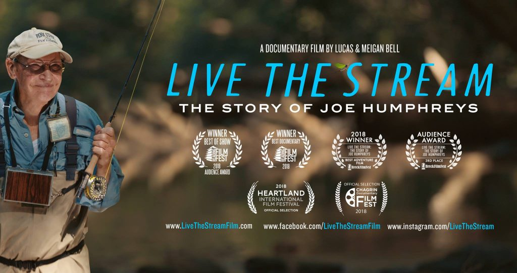 Live the Stream: The Story of Joe Humphreys movie promo - angler
