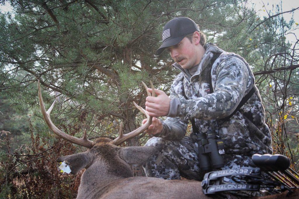 Beau Martonik hunting white tailed deer in PA Wilds