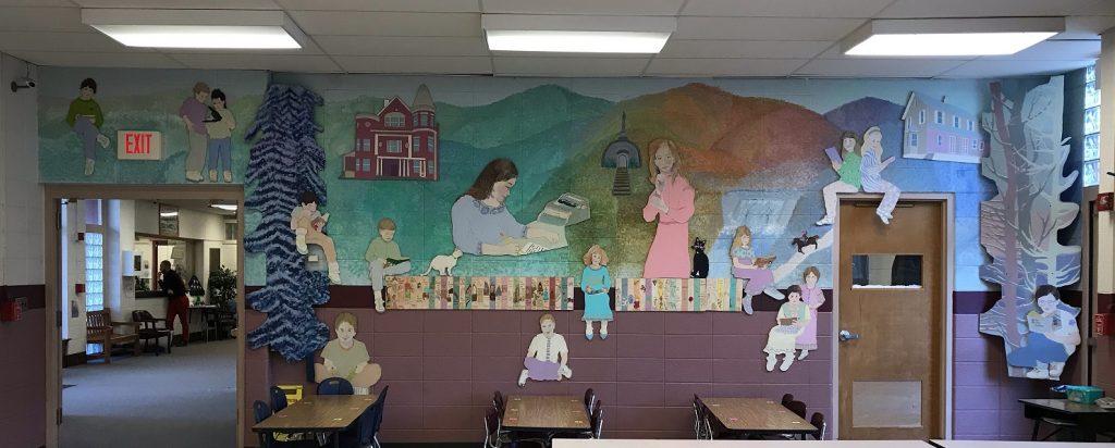 Judy Bolton Mural - Austin School, Austin, Pennsylvania