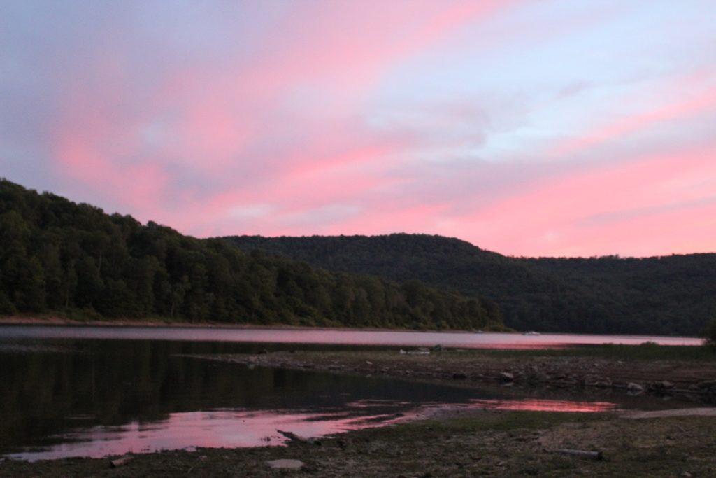 PA Wilds landscape at sunrise by Beau Martonik