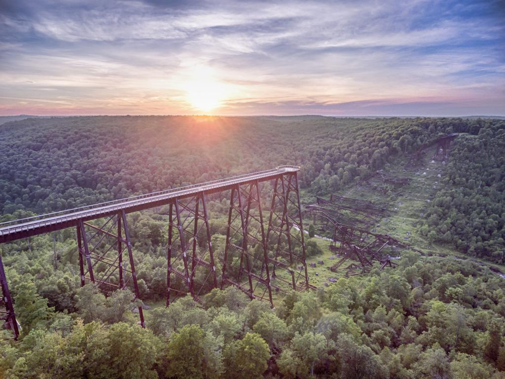 Image result for kinzua bridge state park
