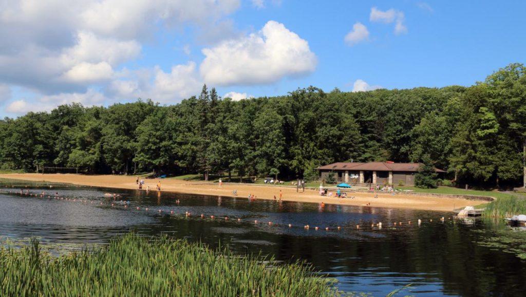 Black Moshannon State Park swimming