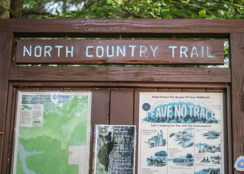 North Country Trail - signage