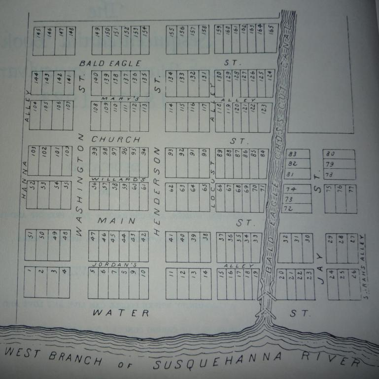 Original map of Clinton County courtesy of the Annie Halenbake Ross Library.