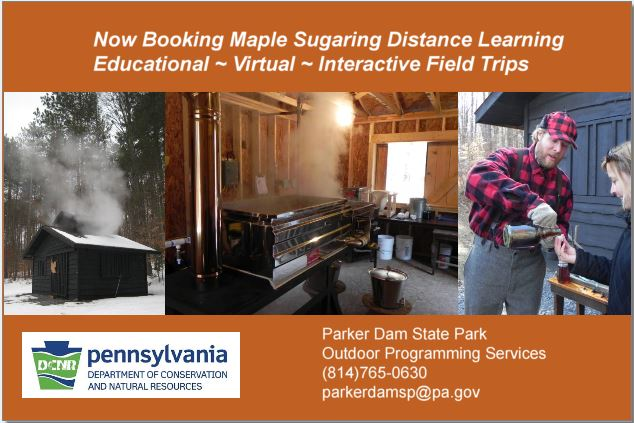 Distance Learning at Parker Dam State Park