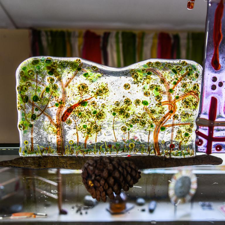 Take a fused glass class while visiting Pine Creek Valley ...