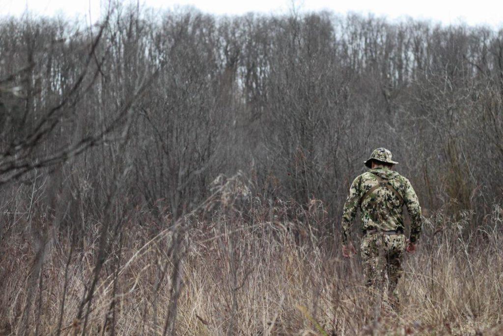 Beau Martonik hunting