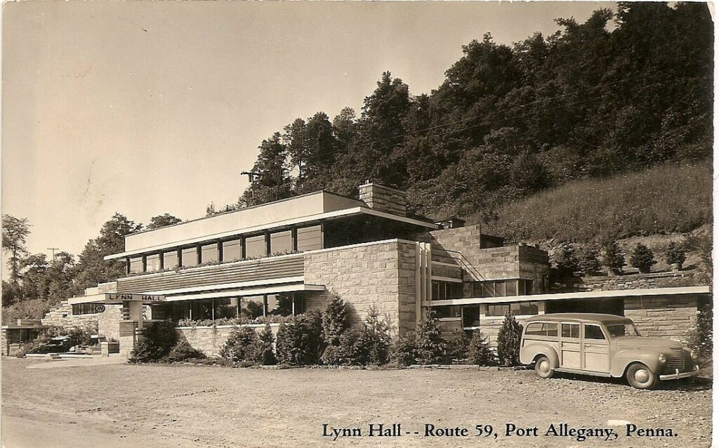 Lynn Hall in the PA Wilds was constructed by the same person who built Fallingwater