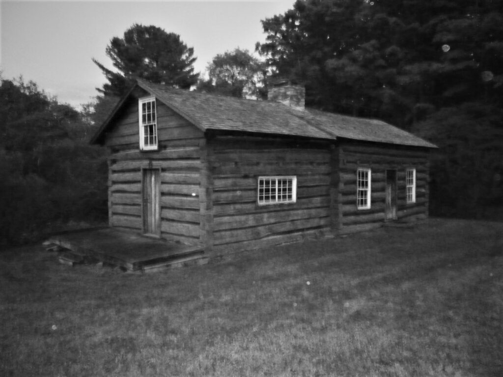 Cherry Springs cabin in PA Wilds photo by Lou Bernard